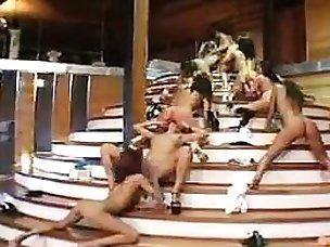 Free Lesbian Orgy Porn Videos